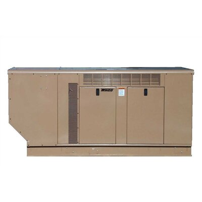 30 Kw Three Phase 277/480 V Natural Gas and Propane Double Fuel Standby Generator - ...
