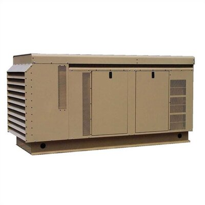 90 Kw Three Phase 277/480 V Natural Gas and Propane Double Fuel Standby Generator - ...