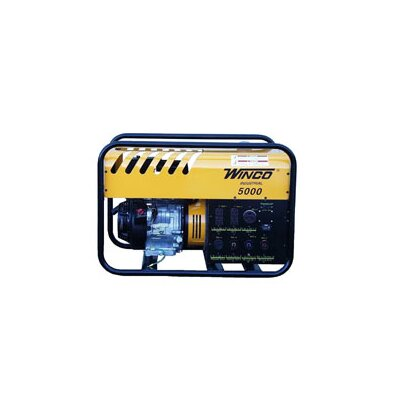 Winco Power Systems Industrial Series 5,000 Watt Portable Gas Generator