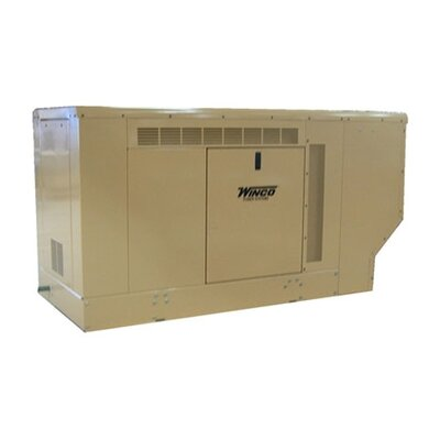 22 Kw Three Phase 120/240 V Natural Gas and Propane Double Fuel Standby Generator - ...