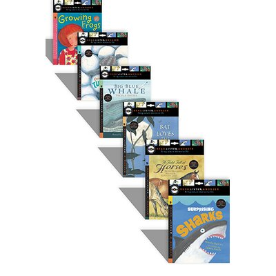 Candlewick Press Read Listen And Wonder Series (Set of 6)