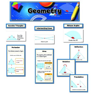 Creative Teaching Press Geometry Mini Bbs Gr 3-5