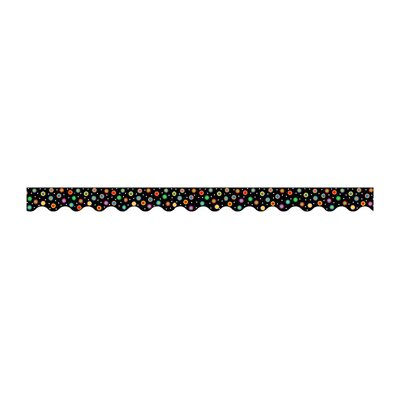 Creative Teaching Press Dots On Black Wavy Border