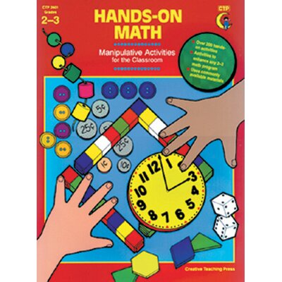 Creative Teaching Press Hands-on Math Gr 2-3