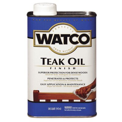 Watco 1 Quart Teak Oil Wood