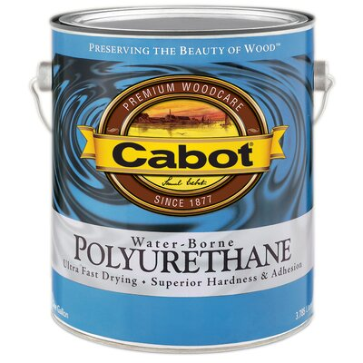 CabotStain 1 Gallon Gloss Interior Water-Borne Polyurethane 144-8080 GL