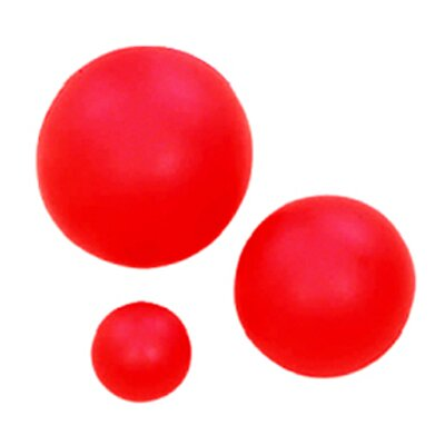 Dick Martin Sports High Density Ball 4 In Coated Foam