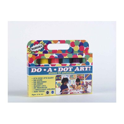 Do A Dot Art Do-a-dot Art Washable Brilliant 6pk
