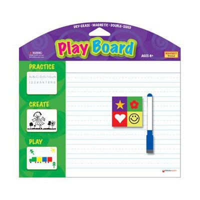 Dowling Magnets Magnetic Playboard W/ Dry Erase