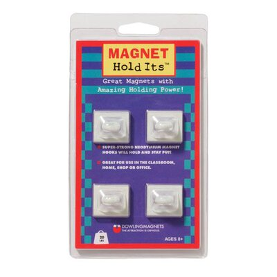 Dowling Magnets Four Ceiling Hook Magnets