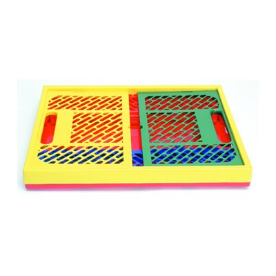 Early Learning Resources LLC Collapsible Crates Ventilated Sides