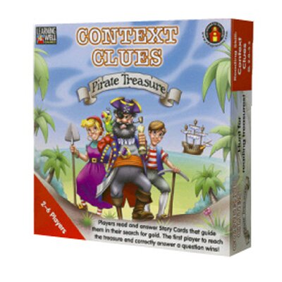 Edupress Context Clues Pirate Treasure Red