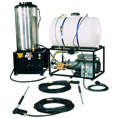 STAT Series 3000 PSI Hot Water Liquid Propane Pressure Washer