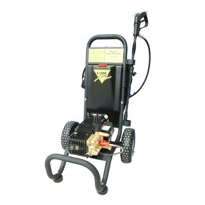 Cam Spray 1450 PSI Cold Water Electric Tube Cart Pressure Washer with Electric Cut-Out Thermal Relief
