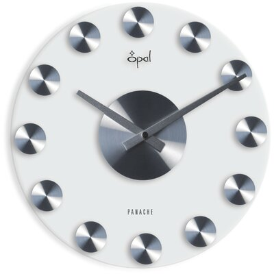 Opal Glass Clock
