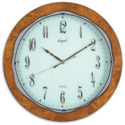 Opal Wooden Round Clock in Classy Finish