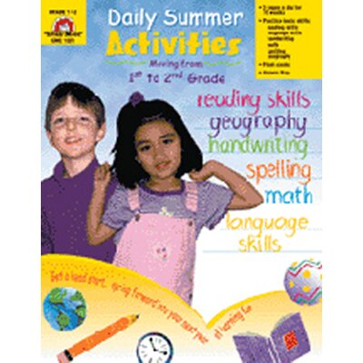 Evan-Moor Daily Summer Activities 1st To 2nd