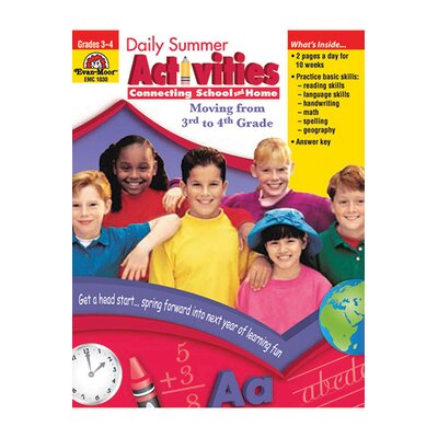 Evan-Moor Daily Summer Activities Gr 3-4