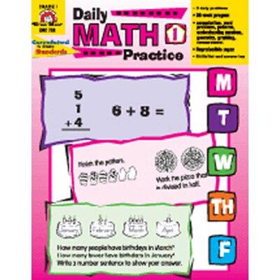 Evan-Moor Daily Math Practice Gr 1