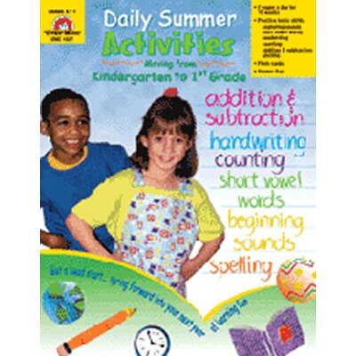 Evan-Moor Daily Summer Activities K To 1st