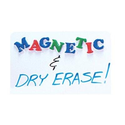 "Flipside Magnetic Dry Erase 1' 6"" x 2' Whiteboard"