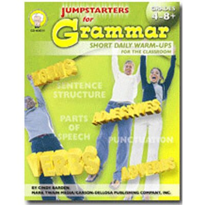 Frank Schaffer Publications/Carson Dellosa Publications Jumpstarters For Grammar Gr 4-8