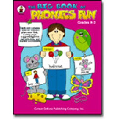 Frank Schaffer Publications/Carson Dellosa Publications Big Book Of Phonics Fun Gr Pk-1