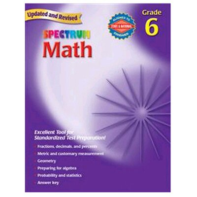 Frank Schaffer Publications/Carson Dellosa Publications Math Gr 6 Starburst