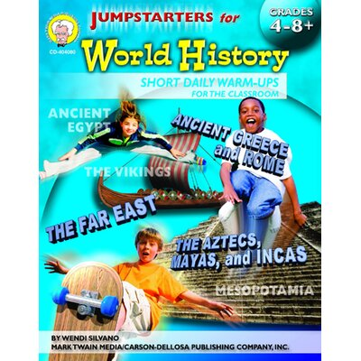 Frank Schaffer Publications/Carson Dellosa Publications Jumpstarters For World History