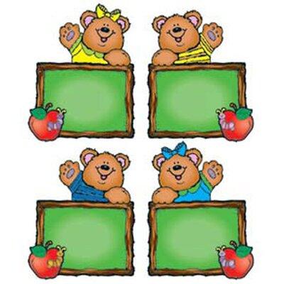 Frank Schaffer Publications/Carson Dellosa Publications Chalkboard Bears Cut-outs - Assorted