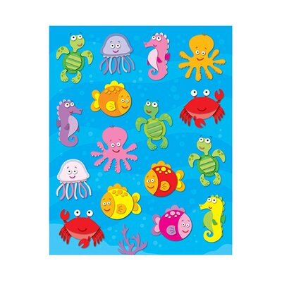 Frank Schaffer Publications/Carson Dellosa Publications Sea Life Shape Stickers 96pk