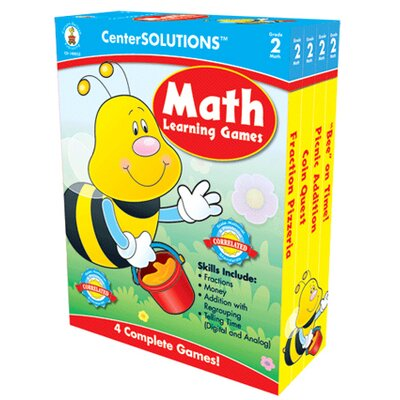 Frank Schaffer Publications/Carson Dellosa Publications Math Learning Games Gr 2
