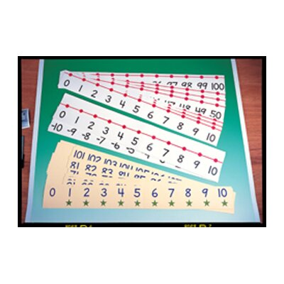 Frank Schaffer Publications/Carson Dellosa Publications Number Line Classroom 4 X 36 -20 to