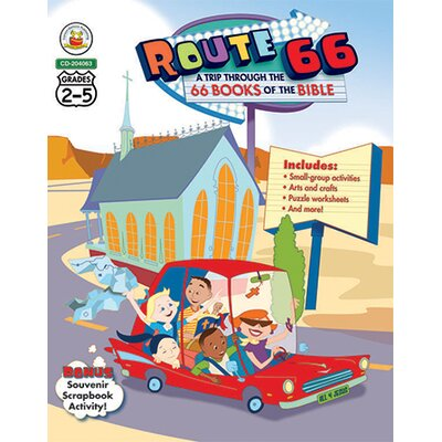 Frank Schaffer Publications/Carson Dellosa Publications Route 66 A Trip Through The 66