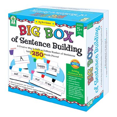 Frank Schaffer Publications/Carson Dellosa Publications Big Box Of Sentence Building Game