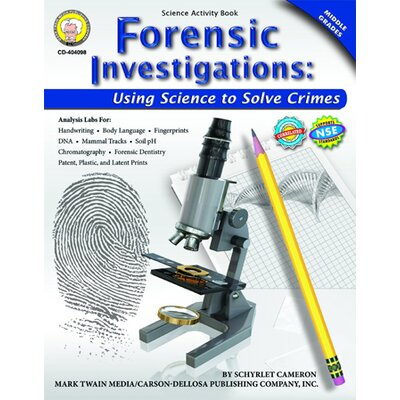 Frank Schaffer Publications/Carson Dellosa Publications Forensic Investigations Activity