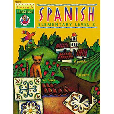 Frank Schaffer Publications/Carson Dellosa Publications Spanish Gr 2 Learn-a-language