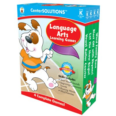 Frank Schaffer Publications/Carson Dellosa Publications Language Arts Learning Games Gr K