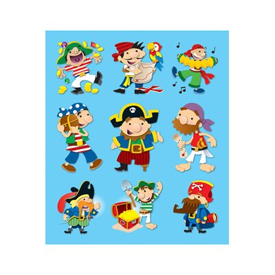 Frank Schaffer Publications/Carson Dellosa Publications Pirates Prize Pack Stickers
