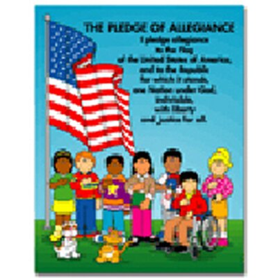 Frank Schaffer Publications/Carson Dellosa Publications Chartlet The Pledge Of Allegiance