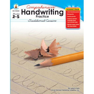 Frank Schaffer Publications/Carson Dellosa Publications Comprehensive Handwriting Practice