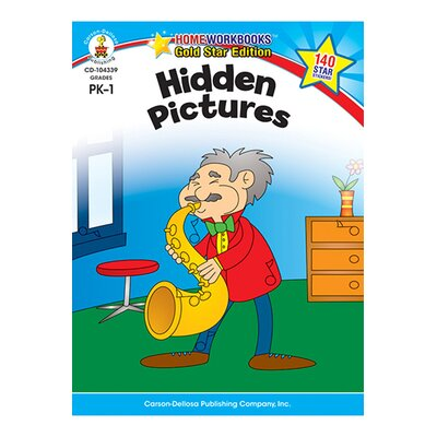 Frank Schaffer Publications/Carson Dellosa Publications Hidden Pictures Home Workbook