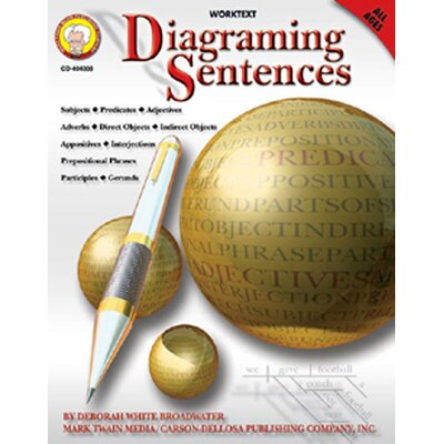Frank Schaffer Publications/Carson Dellosa Publications Diagraming Sentences