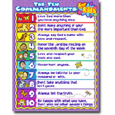 Frank Schaffer Publications/Carson Dellosa Publications The Ten Commandments For Kids