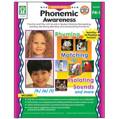 Frank Schaffer Publications/Carson Dellosa Publications Specific Sk Phonemic Awareness Pk-1