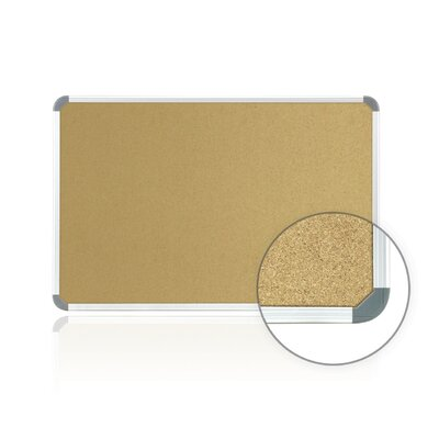 Ghent Radial Edge Euro Style Bulletin Board