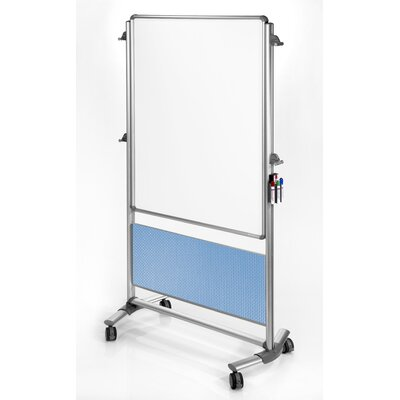 Ghent Nexus Double-Sided Mobile Markerboard Easel