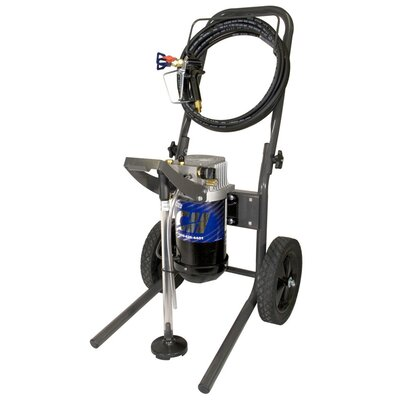 Campbell Hausfeld 3/4 HP, 0.34 GPM Airless Painting System with Steel Frame Cart