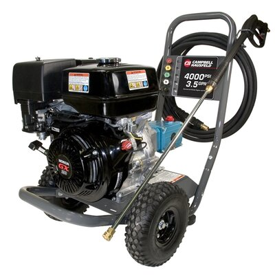 Campbell Hausfeld 4000 PSI Gas Powered Pressure Washer with Honda GX390 Engine
