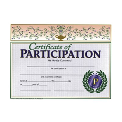 Hayes School Publishing Certificates Of Participation 30/pk